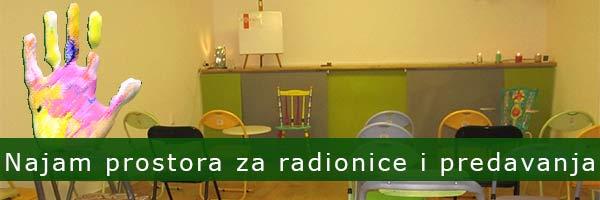 Prostor za radionice i predavanja u Splitu
