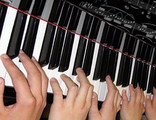 Učenje sviranja klavira u grupi